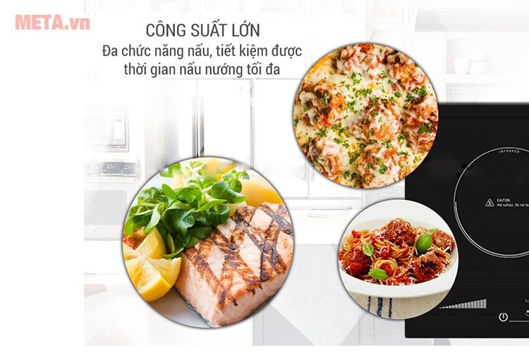 Bếp Điện Âm Cảm Ứng Sanko SI 268 BM