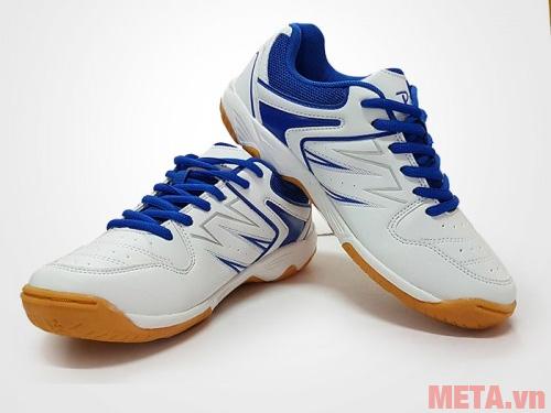 Giày cầu lông Promax PR17009 màu xanh trắng