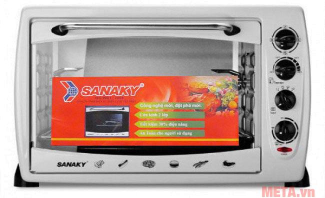 Hình ảnh lò nướng Sanaky VH-369B 36 lít
