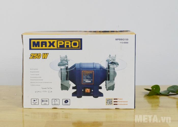 Hộp đựng máy mài 2 đá Maxpro MPBBG150