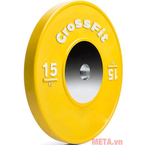 Tạ đĩa Crossfit màu vàng