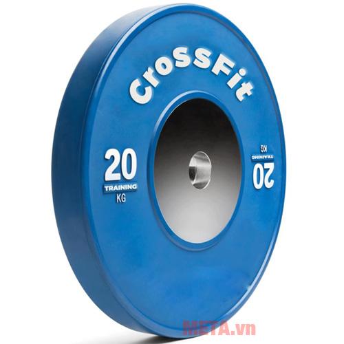 Tạ đĩa Crossfit màu xanh