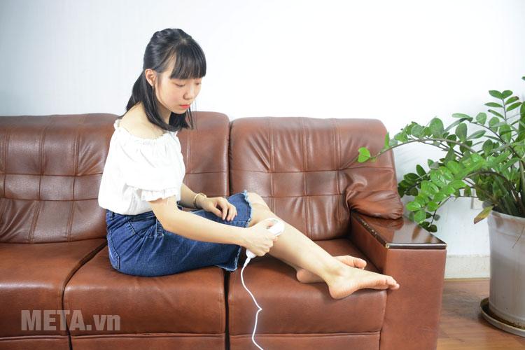 Sử dụng để triệt lông vùng chân