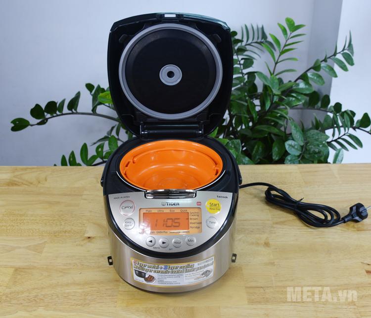 Nồi cơm điện tử cao tần có đĩa nấu