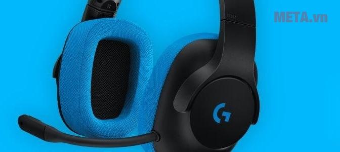 Tai nghe chơi game có dây LOGITECH G233 PRODIGY
