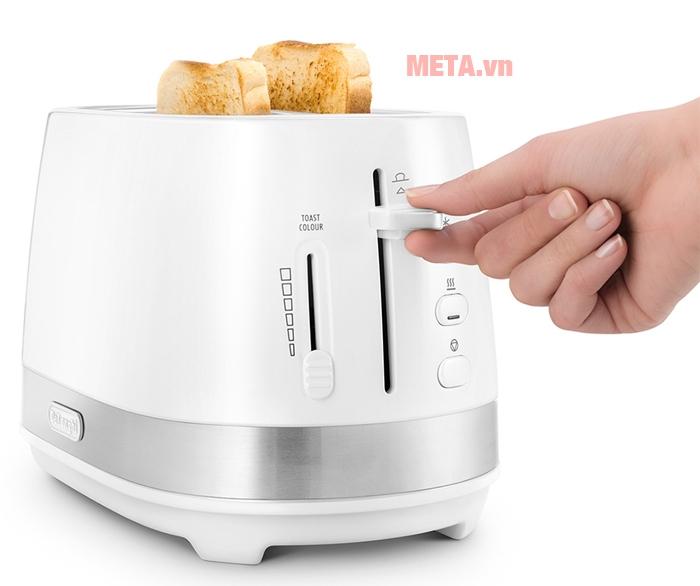 Máy nướng bánh mì Delonghi CTLA2103.W