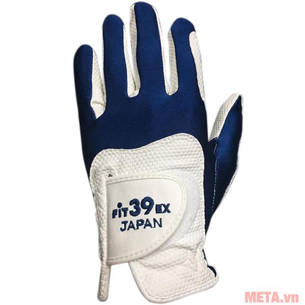 Găng tay Fit39EX Glove Trắng màu xanh navy