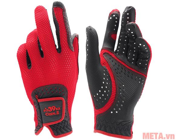 Găng tay Fit39EX Cool II Đen màu đỏ