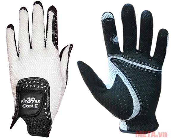 Găng tay Fit39EX Cool II Đen màu trắng