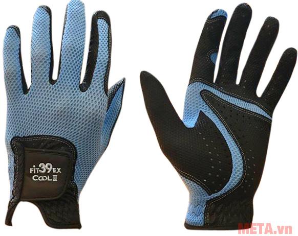 Găng tay Fit39EX Cool II Đen màu xanh lam