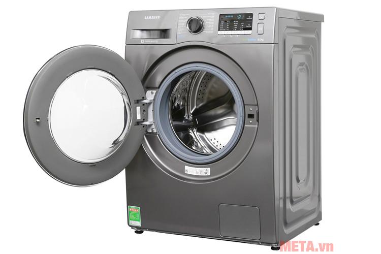 Hình ảnh máy giặt Samsung WW80J54E0BX/SV (8kg)