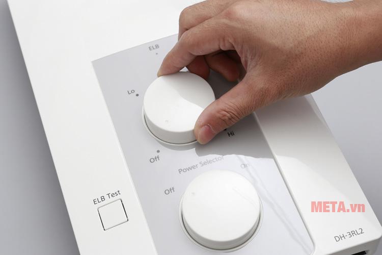 Bình nóng lạnh trực tiếp thiết kế không bình chứa