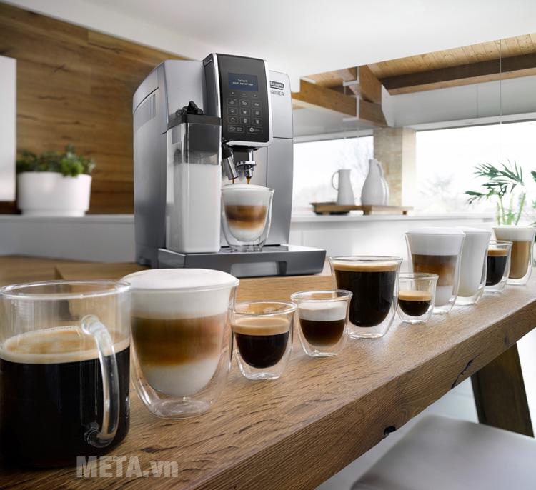 Máy pha cà phê giúp pha được nhiều loại cà phê