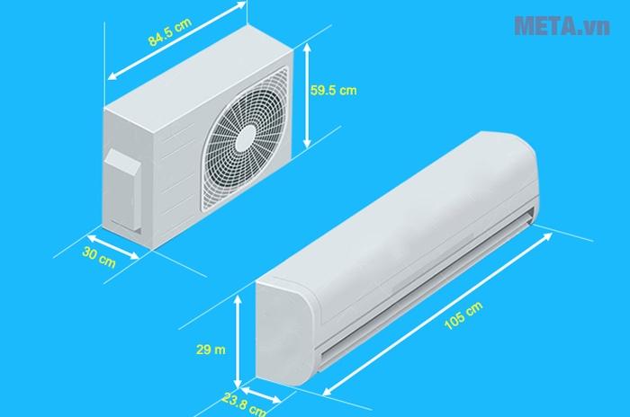 Điều hòa 1 chiều Daikin FTC60NV1V- 22.000BTU