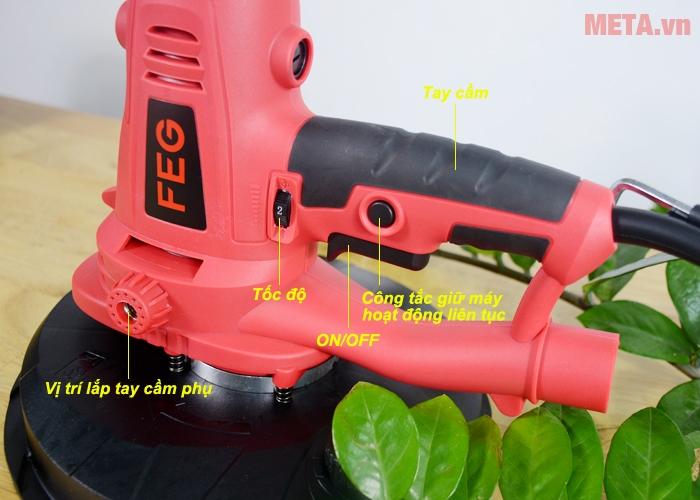 Cấu tạo máy đánh tường FEG EG-316
