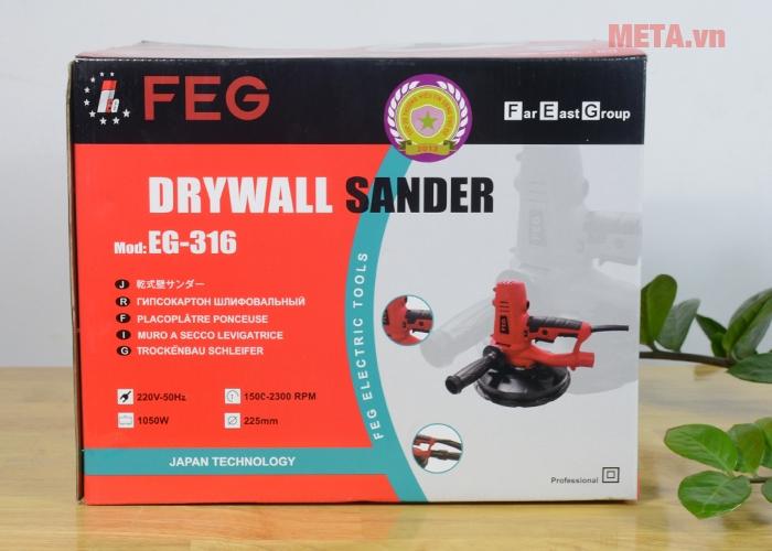 Vỏ hộp sản phẩm máy đánh tường FEG
