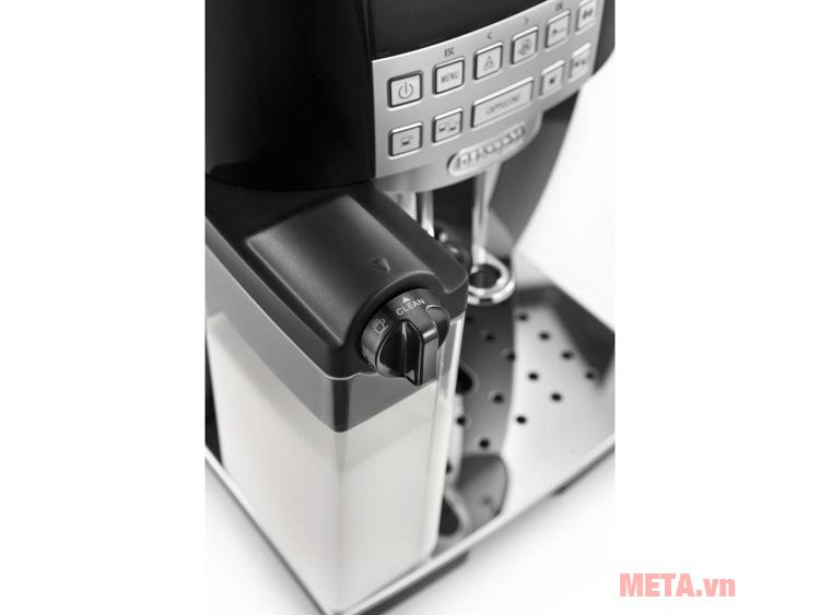 Máy pha cà phê tự động kèm bình chứa sữa
