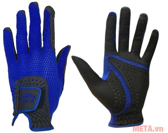 Găng tay Fit39EX Cool II Đen màu xanh hải quân
