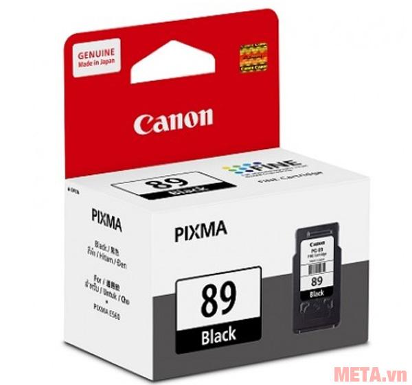 Mực in Canon PG-89 cho chất lượng in sắc nét