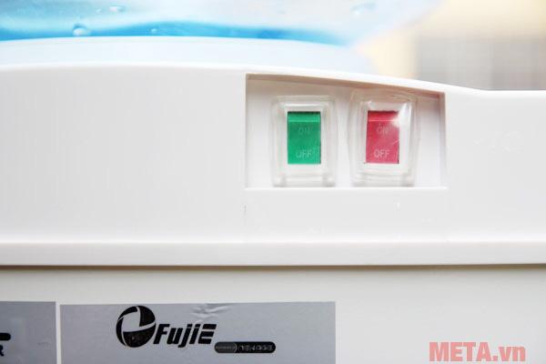 Công tắc cho chế độ nóng lạnh được thiết kế riêng biệt