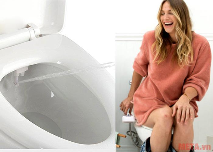Thiết bị vệ sinh phù hợp sử dụng cho mọi đối tượng