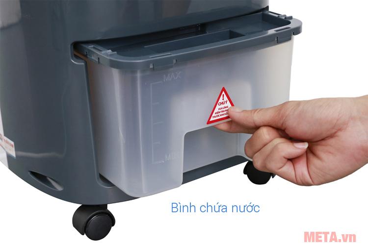 Bình chứa nước dễ dàng vệ sinh