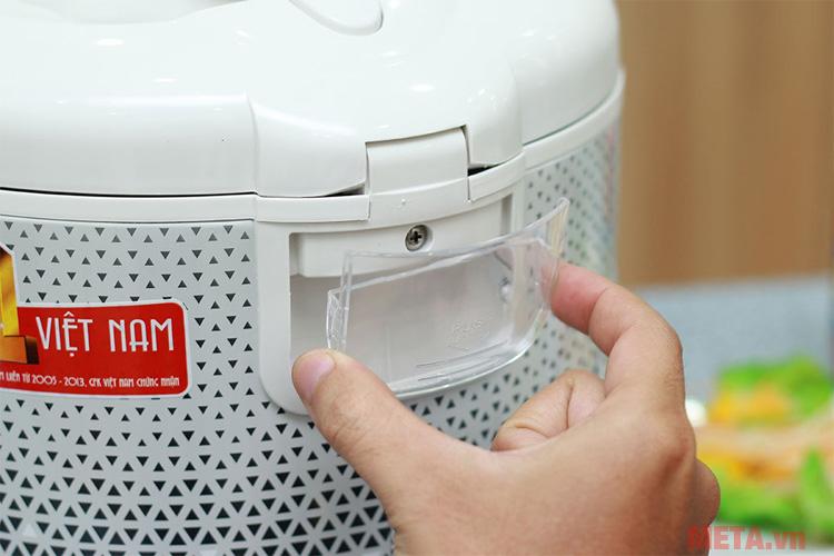 Khay đựng nước thải giữ vệ sinh cho nồi được sạch sẽ
