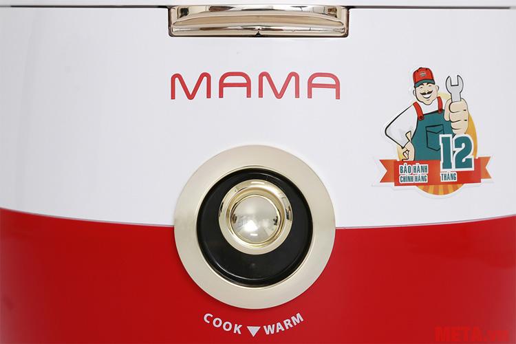 Nút nhấn chọn chế độ nấu cơm hoặc giữ ấm