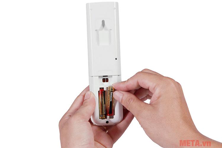 Pin dễ dàng thay thế