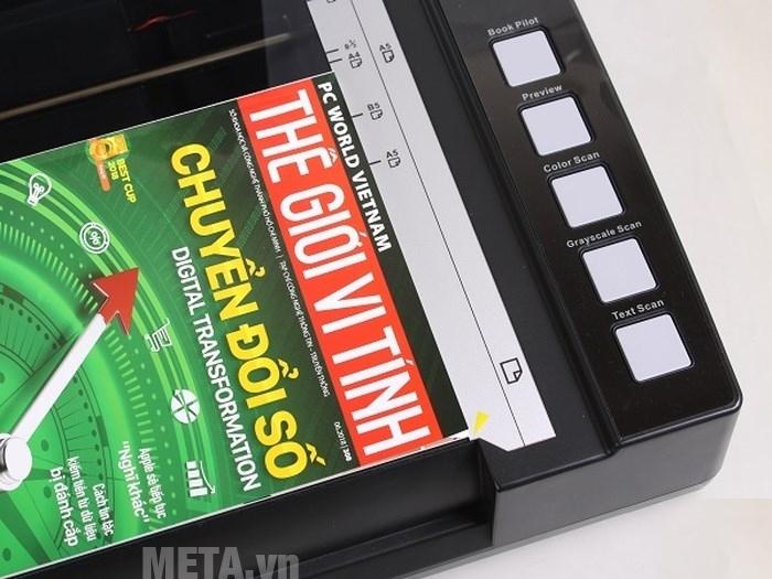 Máy scan sách cho thư viện