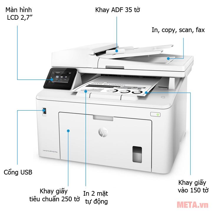 HP Laserjet MFP M227FDW