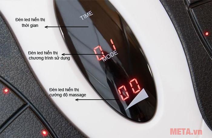 Điều khiển của máy massage chân thư giãn Bodi- Tek CRBO3