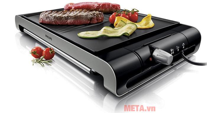 Vỉ nướng phù hợp để nướng nhiều loại thực phẩm