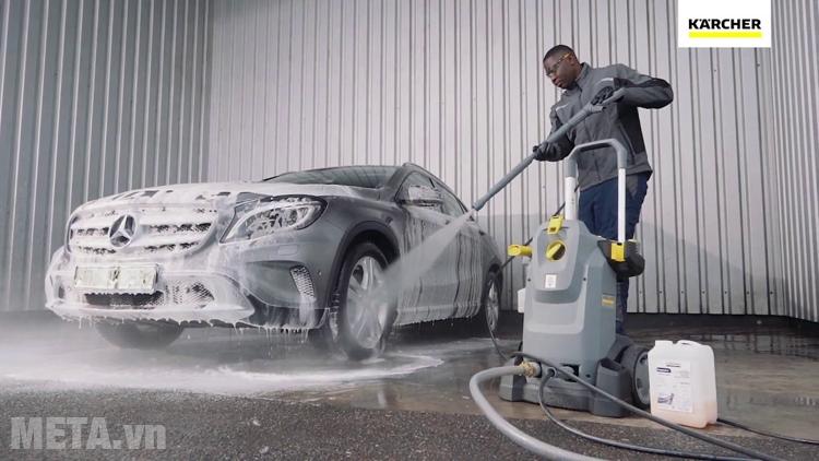 Máy rửa xe chuyên nghiệp cho tiệm rửa xe