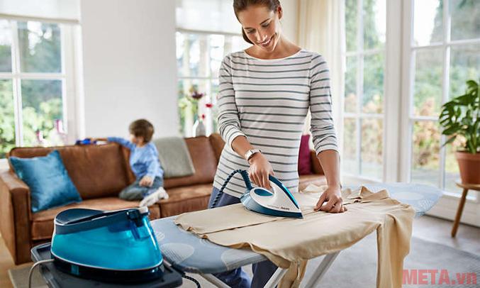 Chức năng xả cặn giúp giữ quần áo sạch sẽ sau khi là