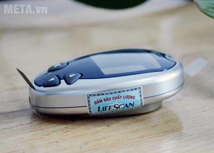 Máy đo đường huyết OneTouch Ultra 2 có tem đảm bảo chất lượng