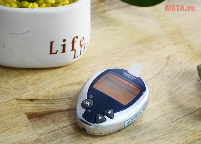 Máy đo đường huyết OneTouch Ultra 2 có bộ nhớ 500 kết quả đo