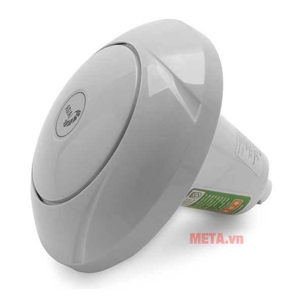 Quạt trần asia hoạt động với công suất 100w, tốc độ quay 290 vòng/phút.