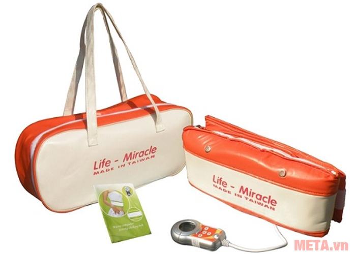 Hình ảnh đai massage rung nóng Life-Miracle