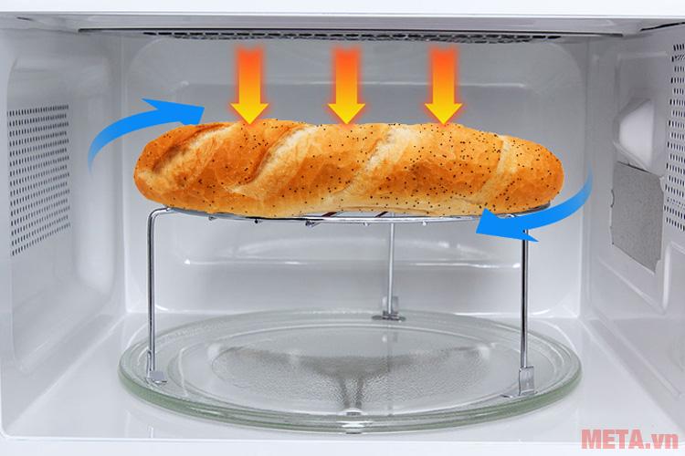 Lò phù hợp để nướng bánh mì