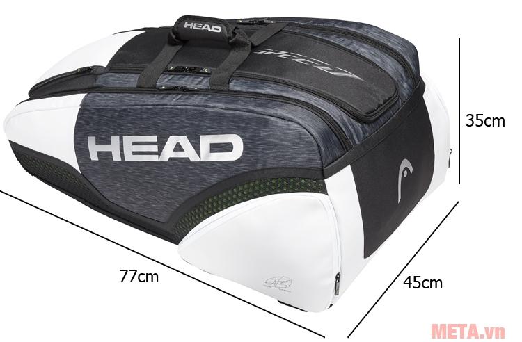 Head Djokovic 12R Monstercombi 283009