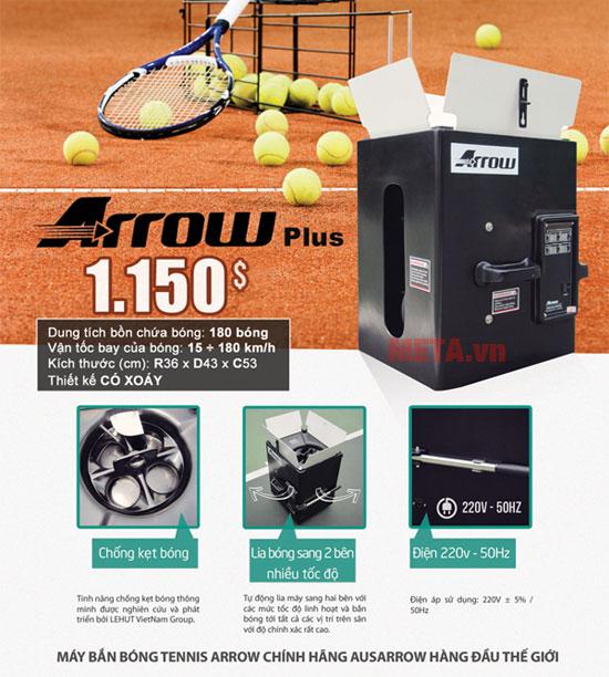 Máy bắn bóng tennis thông minh