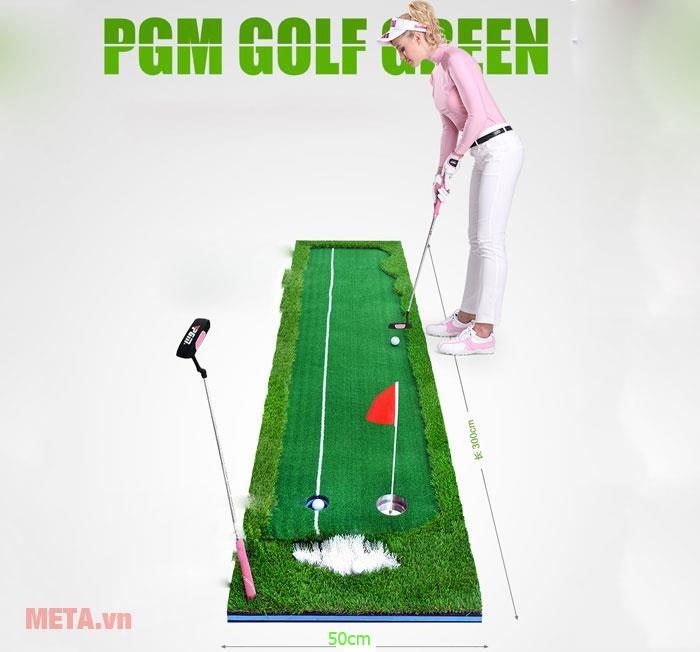 Luyện tập với thảm golf