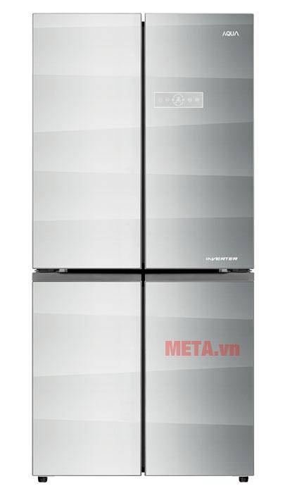 Tủ lạnh 4 cánh AQR-IG595AM có thiết kế sang trọng