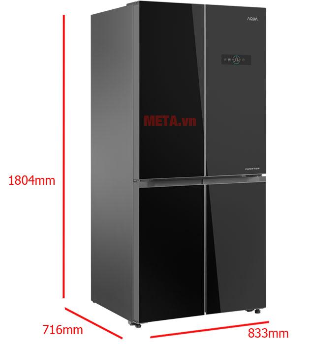 Kích thước sản phẩm thực tế