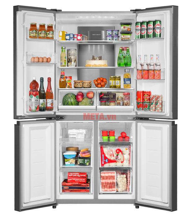 Tủ lạnh 4 cánh có dung tích 547 lít