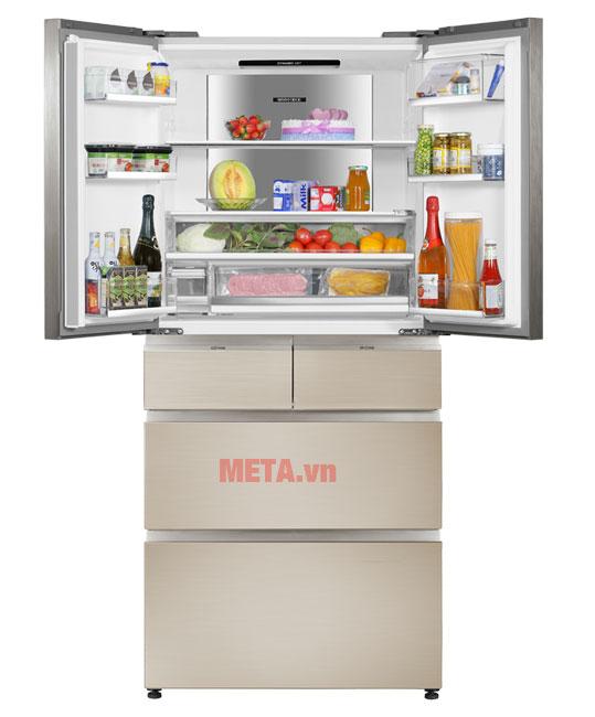tủ lạnh 6 cánh có dung tích 553 lít