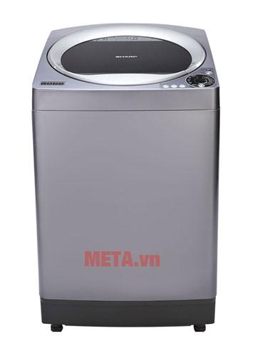 Hình ảnh máy giặt lồng đứng Sharp ES-U102HVS