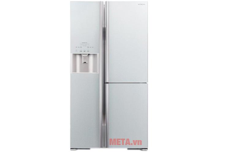 Tủ lạnh 584 lít Hitachi M700GPGV2 màu bạc