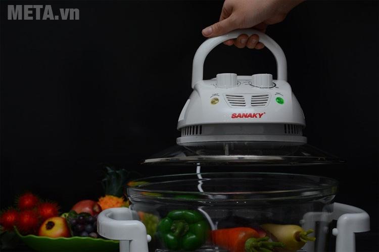 Lò nướng thủy tinh Sanaky VH 148T/D